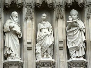 Luwum Statue (right) - Westminster Abbey