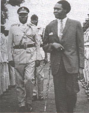 Brigadier Okoya & Dr Obote
