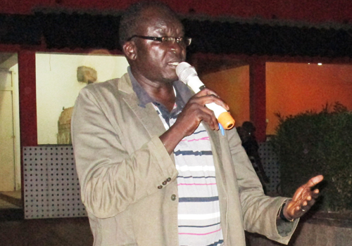 Mr Robert Adongakulu, the Executive Secretary of Gulu Municipal Development Forum