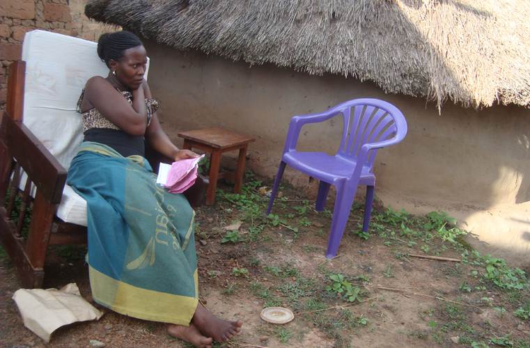 Prisca Awor who still finds difficulty in sitting down says that she is suing Gulu Regional Referral Hospital