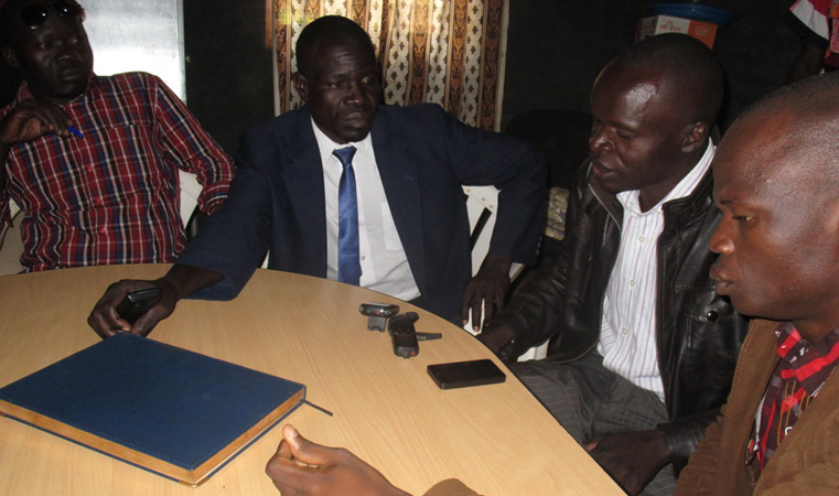 FDC Councilors Addressing the Press