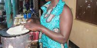 Atimango Concy at work in Amuru Town council