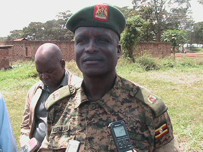 Major Peter Seku Kidemuka