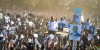 Amama being welcomed in Gulu (1)