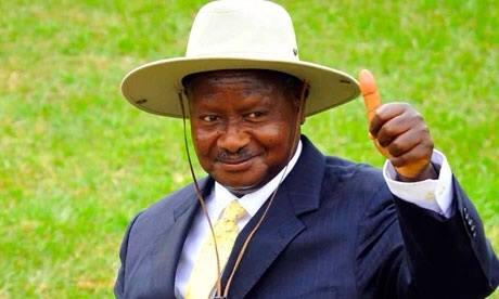 Picture of Museveni