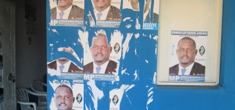 Besigye's Kitgum campaign posters defaced