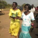 Winnie campaigning for Lamwaka in Bobi subcounty