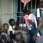 patients at awach Health centre 4