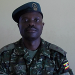 Lt. Ahmad Hassan Kato, the acting 4th Division UPDF spokesperson in Gulu