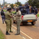 Kelly Komakech in an argument with The Gulu DPC Moses Okoyo