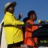 Ruth Achieng with president Museveni at Bobi recently