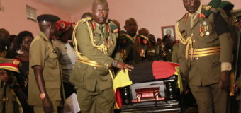 Museveni Delegates Sekandi For Oketta's Burial, Heroic Gulu Welcome For Fallen General