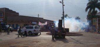 Teargas As Police Disperses Besigye Rally In Gulu