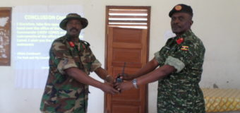 Brig Muhanga Hands Over 4th Division command To Col Rugadya